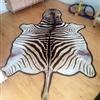 Flot zebraskind, selvskudt i Zimbabwe MED tilladelse - IKKE krybskytteri.  Skindet er garvet i Sydaf..